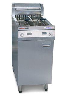 Electric Fryer Dbl Pan 450x805x1080