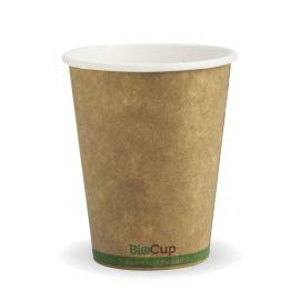 BioPak 8oz Cup Kraft Single Wall (50)
