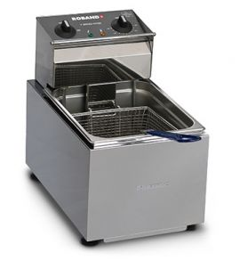 Roband Counter Fryer 8 Litre 1 Basket
