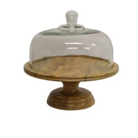 Ploughmans Cake Dome On Stand