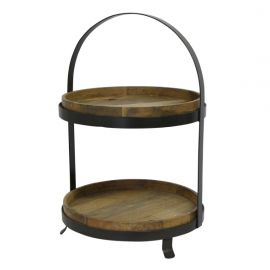 Ploughmans Cake Stand Large 2 Tier