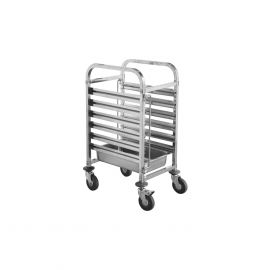Gn Trolley S/s Fits 6x1/1 Trays