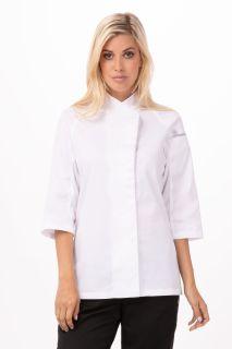 Verona Womens Wht Coat Med