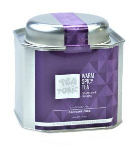 Caddy Tin - Warm Spicy Tea 220g